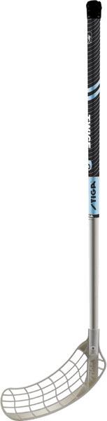 Stiga Unihockeystock L: 80 cm, gerade Schaufel, für Indoor und Outdoor 74038180