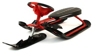 Stiga Snowracer Ultimate Pro rot Stahlrahmen, 130x55x37 cm, Tragkraft max. 80 kg