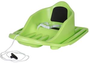 Stiga Bob Baby Cruiser grün 68x52x16 cm, ab 12 Monaten, mit Leine u. Sicherheitsgurt 79010509