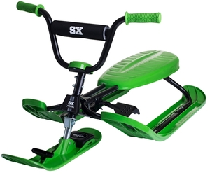 Stiga Snowracer SX Pro, grün 120x56x34 cm, Stahlrahmen, belastbar bis 85 kg 79010819