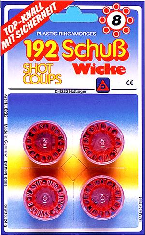 Diverse 8-Schuss Kunststoff-Ring 7020232