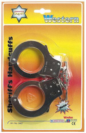 Sohni-Wicke Handschellen mit Schlüssel Metall, auf SB-Karte 7030867