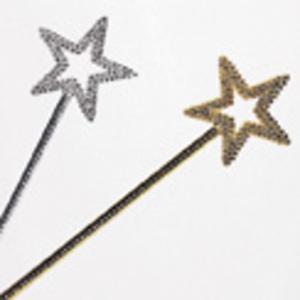 Kuenen Glitterstab assortiert Plastik, L: 43 cm 80710123