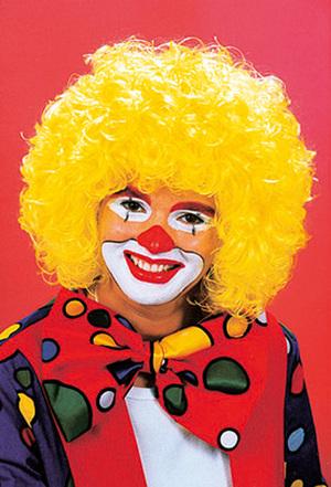 ORLOB Perücke Clown, gelb 81530133