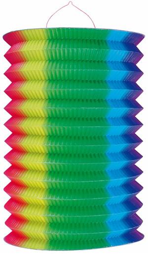Kurt Hauser Zuglampion Regenbogen 25 cm, schwer entflammbar 83010034