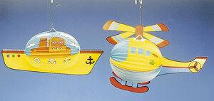 Lampion Zug, Schiff, Heli 83030016