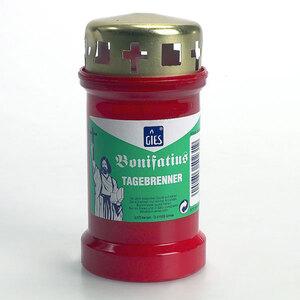 Gies Kerzen Grablicht Bonifatius 3-Tagebrenner mit Deckel 83220062