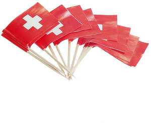 Kurt Hauser Pâtisserie-Fahne, Schweiz 100 Stück, 25 mm 83370192