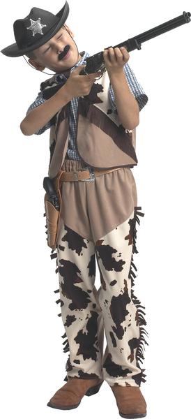 Verlkleidung Kinder Cowboy