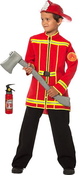 Wilbers Karneval Feuerwehr Jacke, Gr.116 1-teilig 83419533