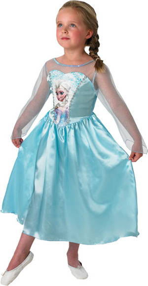 RUBIE'S Kinderkostüm Frozen 7-8 Jahre 71038895423