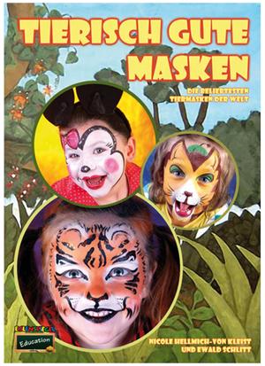 Eulenspiegel Schminkbuch Tierische Masken 22 Anleitungen auf 60 Seiten 83782653