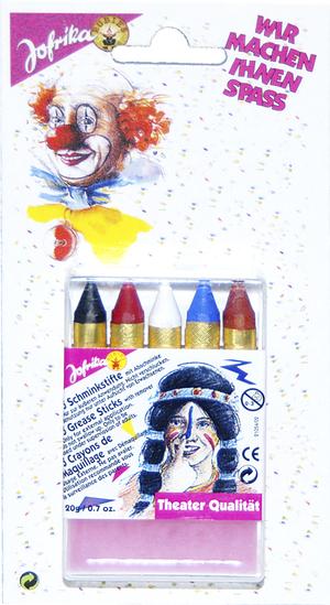 5 Schminkstifte SB Abschminke 83807120