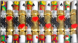 NICO Feuerwerk Knallbonbon Kaminfeger 12 Stück, 15 cm, in Kartonbox 84110175