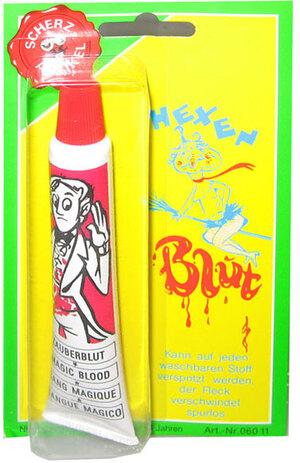 Hexenblut in Tube, 20 ml Zauberblut, abwaschbar 84210121