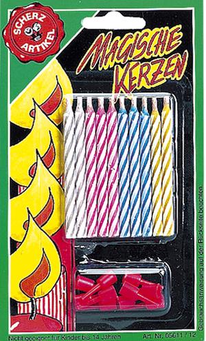Erfurth Magische Kerzen mit Halter SB-Karte 84210820