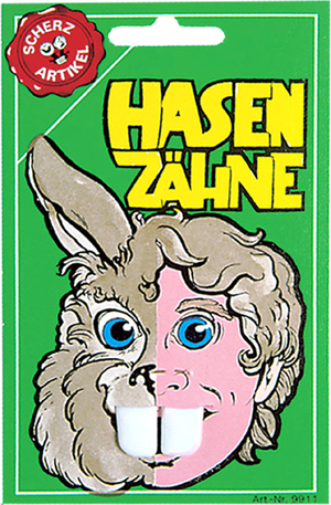 Erfurth Hasenzähne SB-Karte 84210850