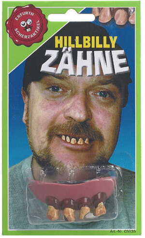 Erfurth Zähne Hillybilly Gummi, SB-Karte 84210852