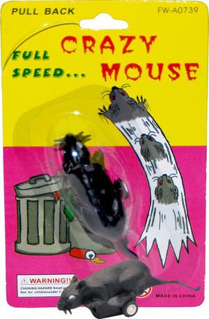Erfurth Maus laufend 3 cm, mit Rückaufzug, auf Karte 73218612