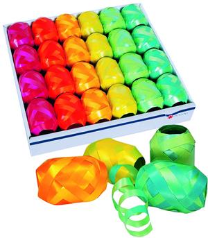 Geschenkband Potpourri Eiknäuel 10mmx20m farbig sortiert,eines wird geliefert 85755620
