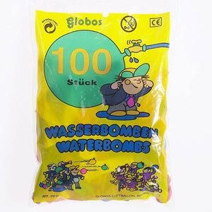 Globos Wasserbomben 100 Stück ø 8 cm, im Polybeutel 86340418