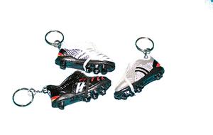 Schlüsselanhänger Fussball- schuh, sortiert, SB-Kopfleiste 86510146