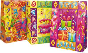 Geschenktüte Maxi, 3 Motive 54x40x20 cm, Papier 86895197