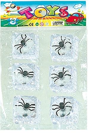 Kuenen Fliege im Eiswürfel 6 Stück im Beutel, 2.7x3 cm 87810805
