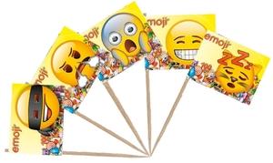 TIB Heyne Flaggenpicker emoji 80 mm, Flagge 35x25 mm, 50 Stk.im Beutel 88510386