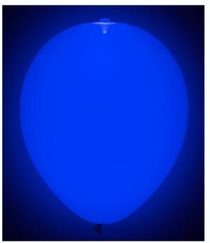 TIB Heyne Ballon LED, uni blau 5 Stück im Beutel, ø 23 cm, Leuchtdauer ca. 20 Std. 88516985