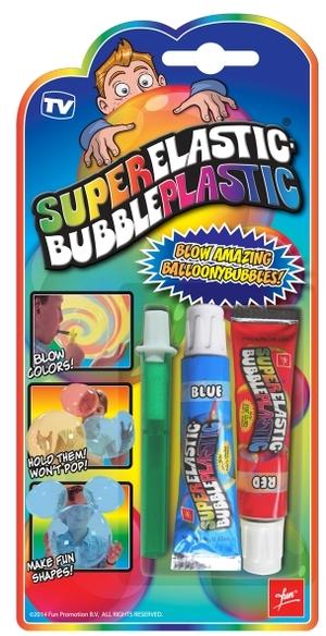 Fun Promotions Super Elastic Bubbles Spezial-Seifenblasen-Set, Farben ass. ab 8 Jahren 89920066