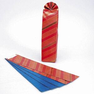Flaschenbeutel, 6 Stück 9 x 48 cm, sortiert 94700290