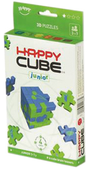 Happy Cube Junior 6-pack cardboardbox HCJ30040