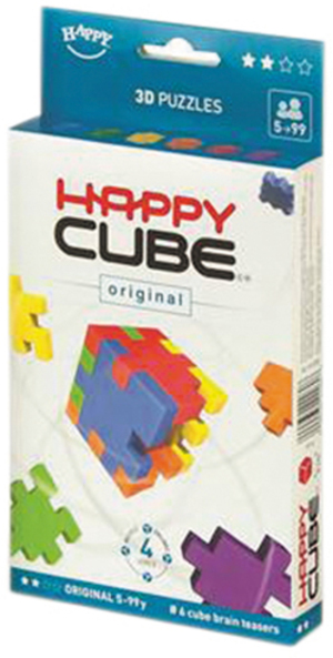 Happy Cube Original 6-pack cardboardbox HCO30040