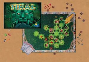 ABACUSSPIELE Tikal (d,i,e) ** 3051A4