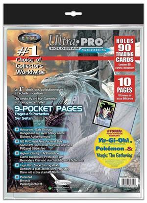 Ultra PRO Platinum 9-Pocket Page (10 pages in polybag) 2181359