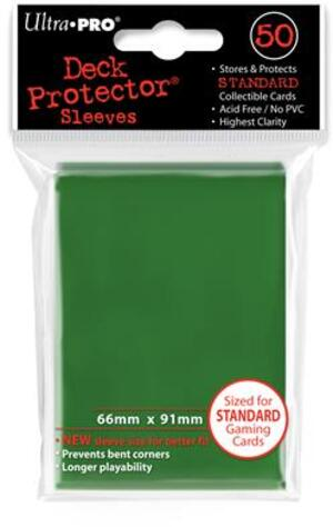 Ultra PRO Green Deck Protector Standard (50) NEW SIZE 2182671