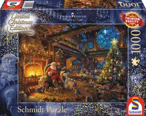 Schmidt Spiele Der Weihnachtsmann und seine Wichtel 1000 Teile SV 59494