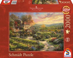 Schmidt Spiele In den Weinbergen 2000 Teile 59629