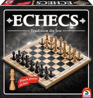 Schmidt Spiele Echecs bois tradition (f) HN00SC88106
