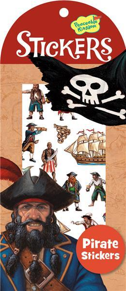 Peaceable Kingdom Pirate Stickers 4204165