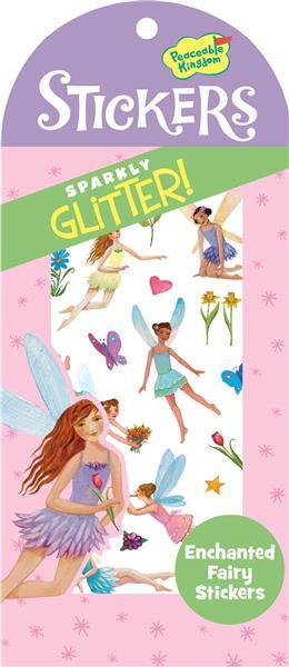 Peaceable Kingdom Fairies Sparkly Glitter Stickers 4204292