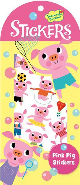 Pink Pig Mini Sitcker Pack SV 4204374