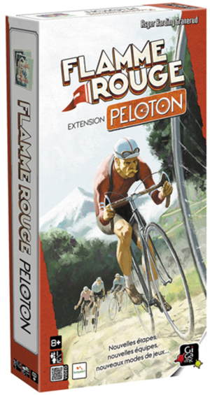 Gigamic Flamme Rouge - Extension Peloton (f) JLFP