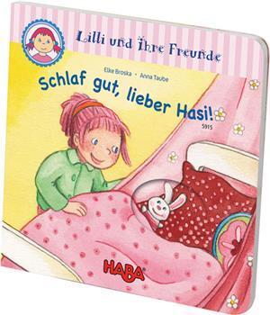HABA Gucklochbuch: Lilli und ihre Freunde - Schlaf gut, lieber Hasi! - D 14072