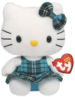 TY Hello Kitty,Schottenrock blau 15cm SV 7140900