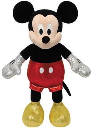 TY Disney,Mickey Glitter (mit Sound), 20cm SV 41072