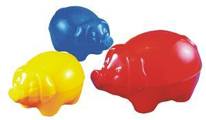 spielstabil Sparschwein gross 3-Farben 772072