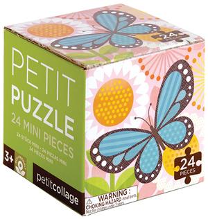 PETITCOLLAGE Petit Puzzle Schmetterling 24 T. SV PZBUTTERFLY