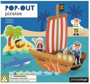 PETITCOLLAGE Pop Out Piraten POPIRATESHIP